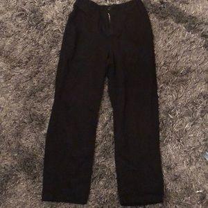brandy melville black kim pants